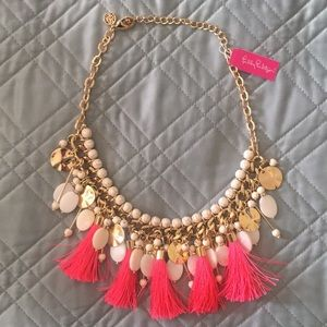 Lilly Pulitzer Summertime Tassel Necklace